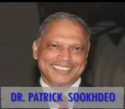 Patrick Sookhdeo with text