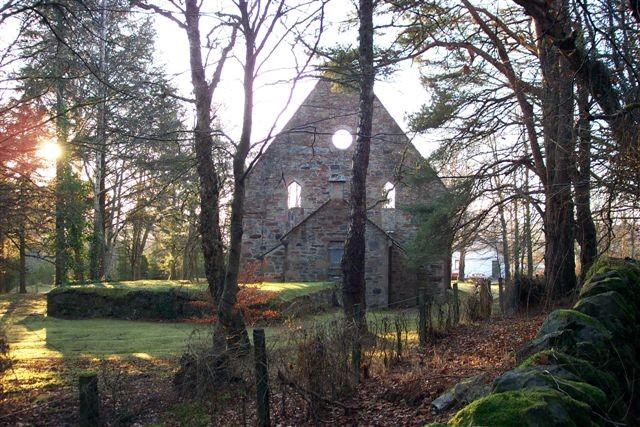 Free Church ruin at Jamestown