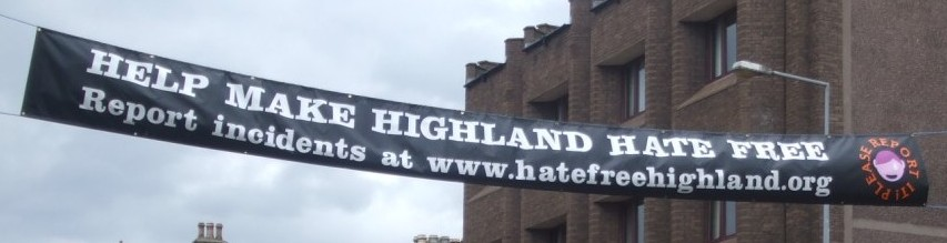 Hate banner