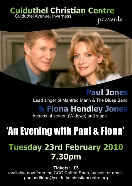Paul and Fiona Jones