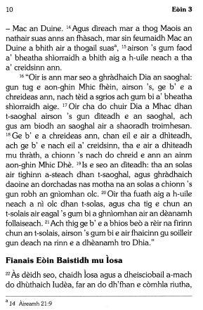 gaelic translation