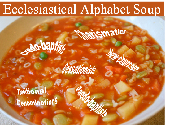 Church alphabet soup
