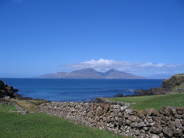 Isle of Rhum from Muck