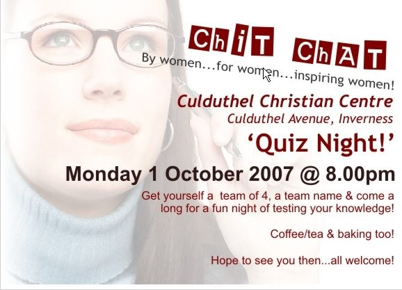 Chit Chat Oct 2007