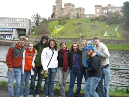 Group with Castle