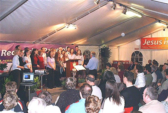 Tent Mission Choir