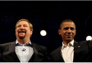 Rick Warren and Barak Obama