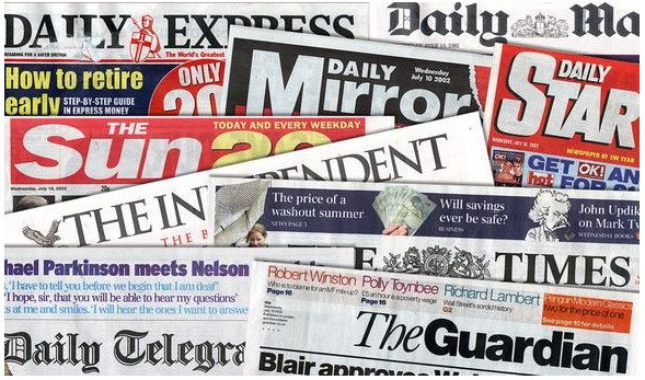 Newspapers big