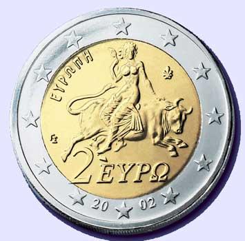 EU Coin: Woman & the Beast