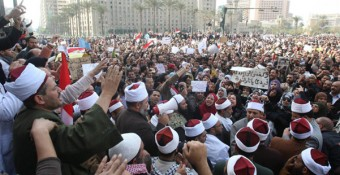 Egyptian crowd