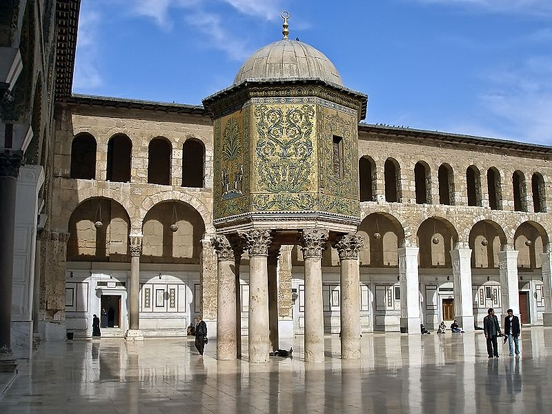 Damascus mosque