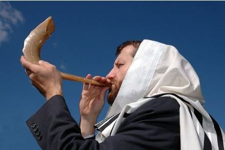 Blowing Shofar